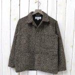 ENGINEERED GARMENTS WORKADAY『Utility Jacket-Tri Blend Wool Tweed』(Brown)