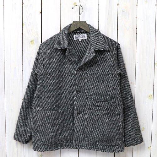 『Utility Jacket-Tri Blend Wool Tweed』(Grey)