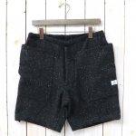 SASSAFRAS『FALL LEAF OVER PANTS 1/2(BLANKET)』(CHARCOAL)