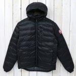 CANADA GOOSE『LODGE DOWN HOODY』(BLACK)