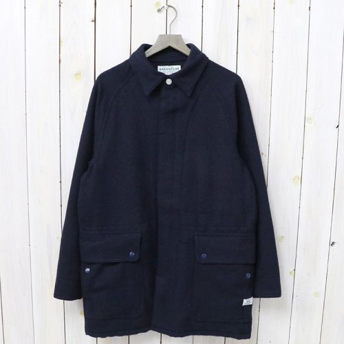 『FALL LEAF COAT(BLANKET)』(NAVY)