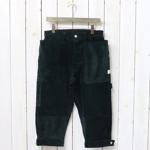 『FALL LEAF GARDENER PANTS 2/3(CORDUROY)』(BLACK)