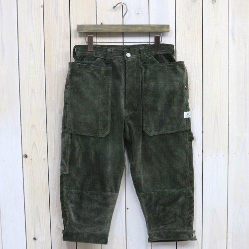 『FALL LEAF GARDENER PANTS 2/3(CORDUROY)』(OLIVE)