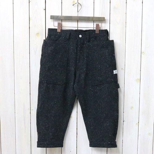 『FALL LEAF GARDENER PANTS 2/3(BLANKET)』(CHARCOAL)