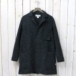 SASSAFRAS『WHOLE LEAF COAT(BLANKET)』(CHARCOAL)