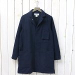 SASSAFRAS『WHOLE LEAF COAT(BLANKET)』(NAVY)