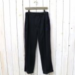 Needles『Side Line Center Seam Pant-Poly Smooth』(Black)