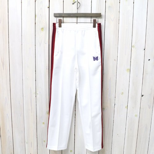 Needles『Track Pant-Poly Smooth』(White)