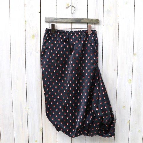 【会員様限定SALE】Needles『Conti Skirt-Nylon Taffeta』(Navy)