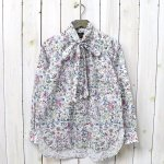 Needles『Ascot Collar EDW Gathere Shirt-Liberty Print』(White)