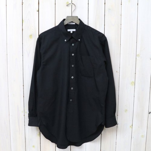 『19th BD Shirt-Superfine Poplin』(Black)