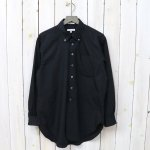 ENGINEERED GARMENTS『19th BD Shirt-Superfine Poplin』(Black)