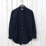 ENGINEERED GARMENTS『19th BD Shirt-Superfine Poplin』(Dk.Navy)