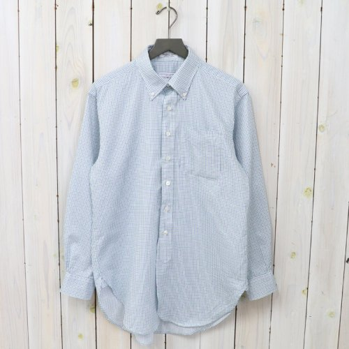 『19th BD Shirt-Cotton Tattersall』(Green/Navy)