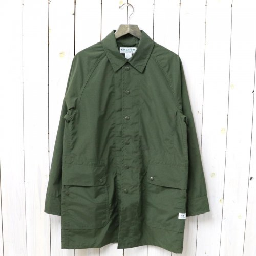 『FALL LEAF COAT(NYLON)』(OLIVE)