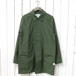 SASSAFRAS『FALL LEAF COAT(NYLON)』(OLIVE)