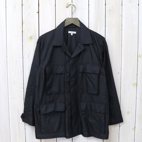 『BDU Jacket-Nylon Micro Ripstop』(Black)