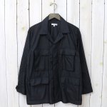 ENGINEERED GARMENTS『BDU Jacket-Nylon Micro Ripstop』(Black)