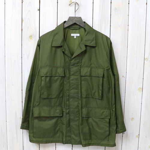 『BDU Jacket-Nylon Micro Ripstop』(Olive)