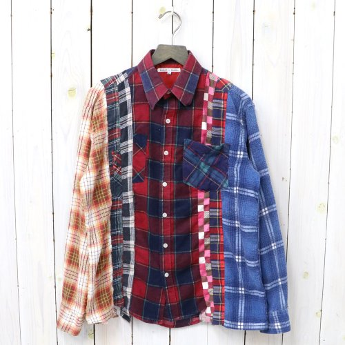 『Flannel Shirt->7 Cuts Shirt』(Assorted)