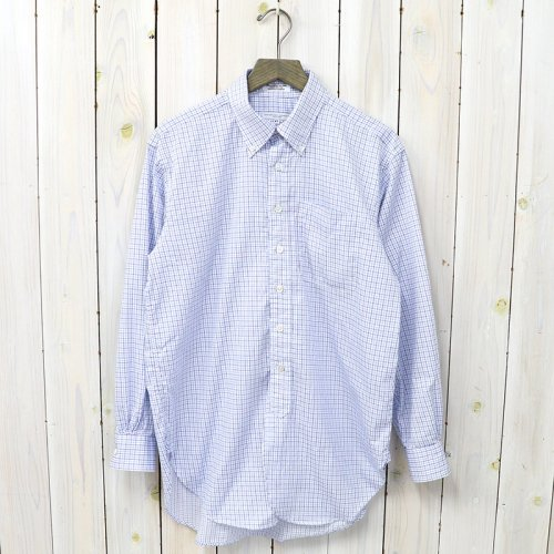 『19th BD Shirt-Cotton Tattersall』(Blue/Navy)