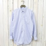 ENGINEERED GARMENTS『19th BD Shirt-Cotton Tattersall』(Blue/Navy)