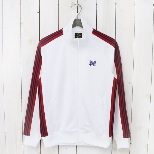 【会員様限定SALE】Needles『Track Jacket-Poly Smooth』(White)
