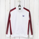 Needles『Track Jacket-Poly Smooth』(White)