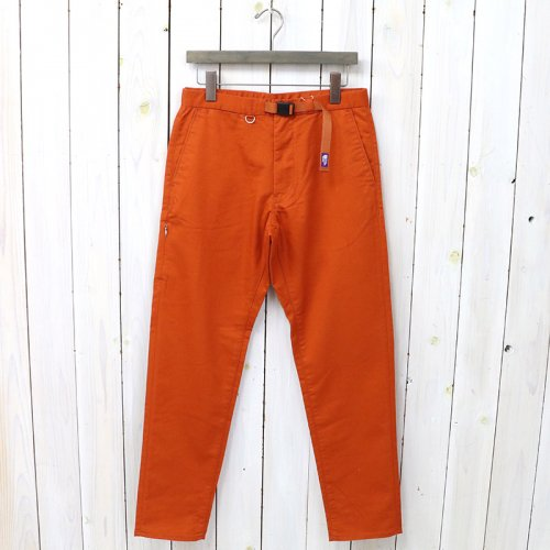『Stretch Twill Tapered Pants』(Orange)