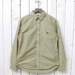 THE NORTH FACE PURPLE LABEL『Cotton Polyester Typewriter Shirt』(Light Khaki)