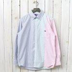 THE NORTH FACE PURPLE LABEL『Crazy Stripe Big B.D. Shirt』
