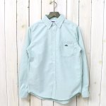 THE NORTH FACE PURPLE LABEL『Cotton Polyester OX B.D. Shirt』(Green)