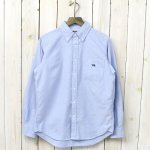 THE NORTH FACE PURPLE LABEL『Cotton Polyester OX B.D. Shirt』(Sax)