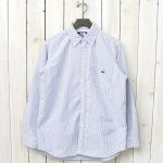 THE NORTH FACE PURPLE LABEL『Cotton Polyester Stripe OX B.D. Big Shirt』(Navy)