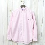 THE NORTH FACE PURPLE LABEL『Cotton Polyester Stripe OX B.D. Big Shirt』(Pink)