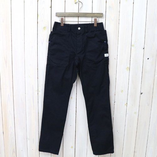 SASSAFRAS『FALL LEAF SPRAYER PANTS(WEATHER)』(NAVY)