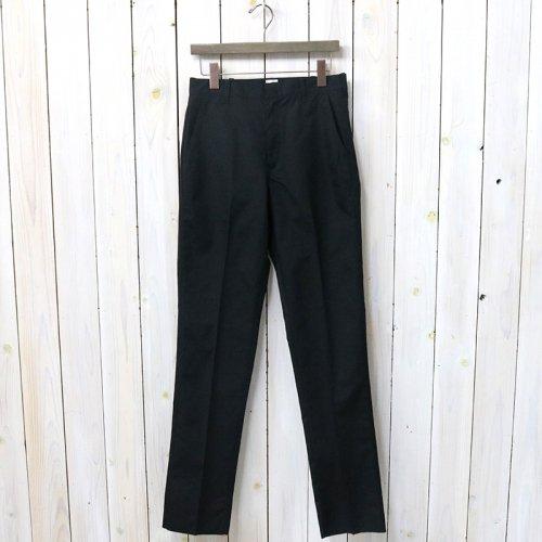 『TRIM FIT PANTS』(BLACK)