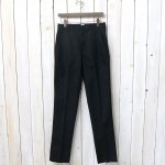 ANATOMICA『TRIM FIT PANTS』(BLACK)
