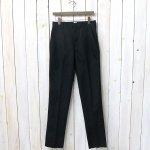ANATOMICA『TRIM FIT PANTS』(BLACK)