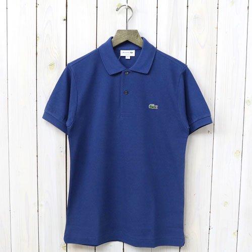 LACOSTE『ポロシャツ(半袖)』(ブルー)