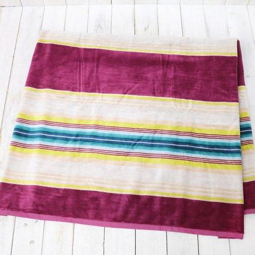 PENDLETON『JACQUARD TOWEL OVER SIZE』(Serape Magenta)