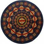 PENDLETON『Printed Round Towel』(Chief Jospeh Indigo)