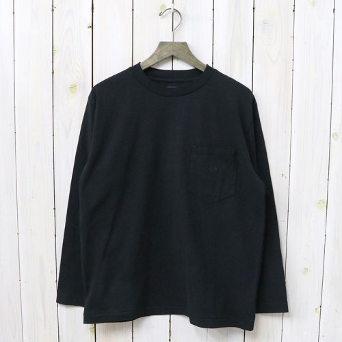 『7oz L/S Pocket Tee』(Black)