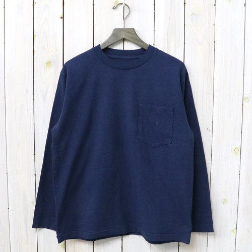 『7oz L/S Pocket Tee』(Navy)