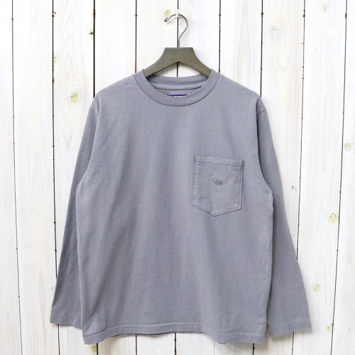 『7oz L/S Pocket Tee』(Gray)