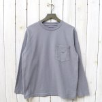 THE NORTH FACE PURPLE LABEL『7oz L/S Pocket Tee』(Gray)