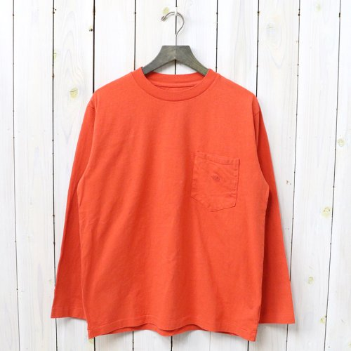 THE NORTH FACE PURPLE LABEL『7oz L/S Pocket Tee』(Orange)