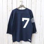 nanamica『nanamica Football Tee』(Navy)