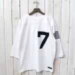 nanamica『nanamica Football Tee』(Off White)