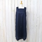 ENGINEERED GARMENTS『Square Neck Dress-Tone&Tone Dobby St.』(Dk.Navy)